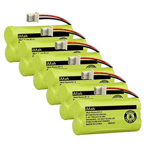 Baterias BT166342/BT266342 para telefono VTech (x6)