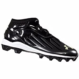 UNDER ARMOUR NITRO DIABLO BOYS RM BLACK BOYS FOOTBALL CLEATS US 1.5Y EU 33