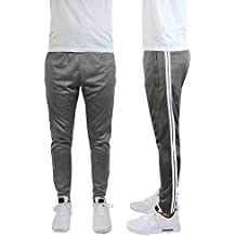 Galaxy by Harvic Mens Soccer Athletic Training Sweat Track Pants