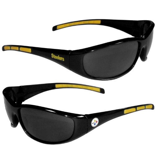 Siskiyou Gifts Co, Inc. Pittsburgh Steelers Wrap Sunglasses ()