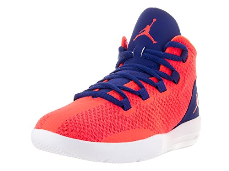 Nike Boys' Jordan Reveal Bg Basketball Shoes, Black (Black (Black/Black-Black-Infrared 23)), 3 UK