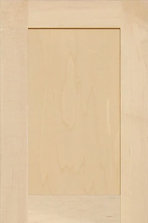 Unfinished Maple Shaker Cabinet Door by Kendor, 18H x 12W ...