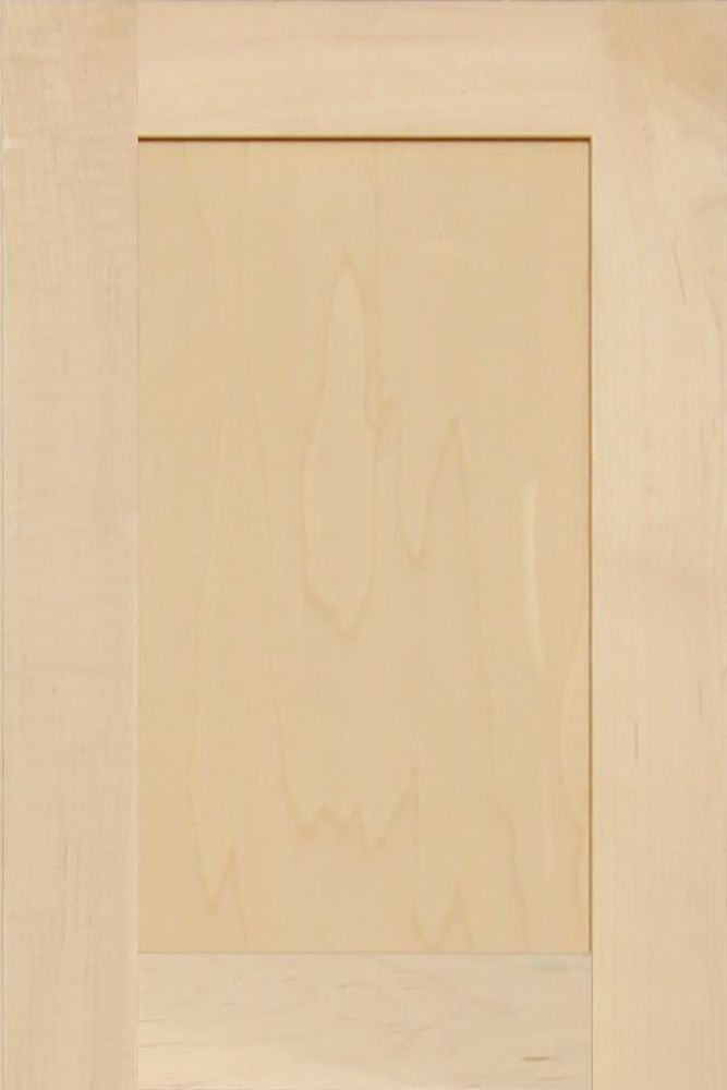 Unfinished Maple Shaker Cabinet Door by Kendor, 18H x 12W
