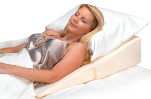 Contour Products Folding Bed Wedge Pillow 12 Inches X 24