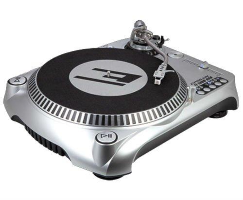 Epsilon DJT-1300 USB DJ Turntable, Silver