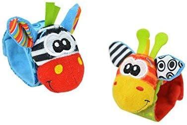 Wimagic 1 Pair Baby Socks Boys Girls Non Slip Cotton Cute Cartoon Animal Soft Cotton Sock for 0-12 Months Infant