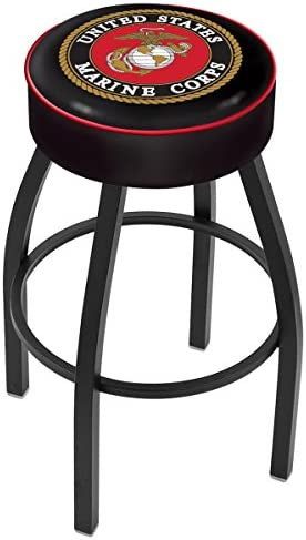 US Military United States Marine Corps 30 Bar Stool