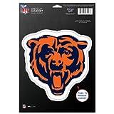 WinCraft NFL Chicago Bears 83712010 Die Cut Logo Magnet, Small, Black