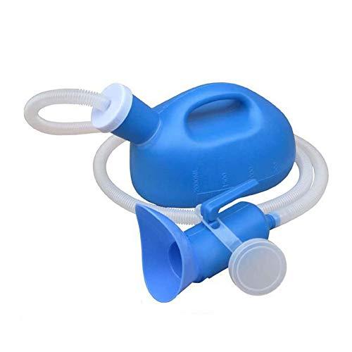 Unisex potje urinoirs met deksel, Toliet urinoir Pot voor mannen en vrouwen, draagbare plasfles, met deksel en trechter…