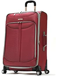 Luggage Tuscany 30 Inch Expandable Vertical Rolling Luggage Case,Red,One Size