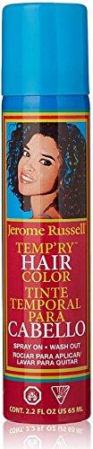 jerome russell Temporary Spray, Dark Brown