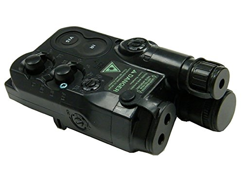 MDG Tactical AN/PEQ-16 Battery Case Plastic Dummy Toy Airsoft Military Black by MDG