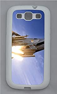 Samsung Galaxy S3 I9300 Cases & Covers - F-15 Fighter Custom TPU Soft Case Cover Protector for Samsung Galaxy S3 I9300 - White