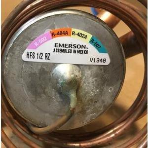 EMERSON/ALCO HFS 1/2 RZ/055874 1/2 TON ADJUSTABLE INTERNAL LOW TEMP TXV R-502