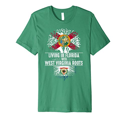 rginia Roots State Tree Flag Shirt Gift ()