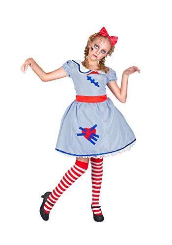 Girl's Broken Doll Costume -