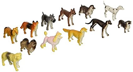US Toy Mini Dogs - Bulk (2-Pack of 12)