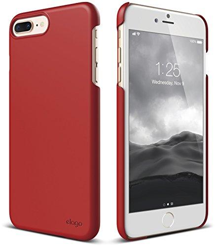 Red Handheld Flare (elago iPhone 8 Plus/iPhone 7 Plus Case [Slim Fit 2][Red] - [Light][Minimalistic][True Fit])