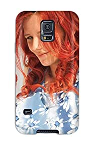 Awesome PuSqdLW1996IBAnn MaritzaKentDiaz Defender Tpu Hard Case Cover For Galaxy S5- Ariel Smiling