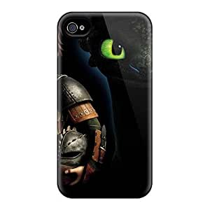 Iphone 4/4s ZkU5466KpxA Custom Lifelike How To Train Your Dragon Skin Shock Absorbent Hard Phone Cover -ColtonMorrill