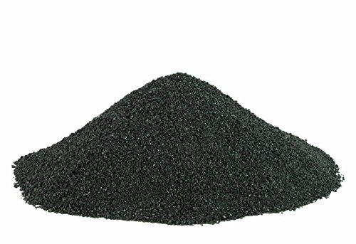 BLACK BEAUTY Abrasive Blast Media Medium Abrasive 12/40 Mesh Size for use in Sandblast Cabinet - 80 -