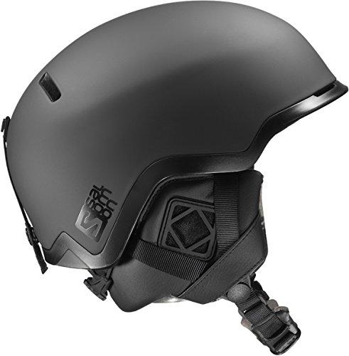 Salomon Hacker Audio Freeride Ski/Snowboard Helmet Black Matte Small w. Outdoor Tech Audio (Salomon Skis Freeride)