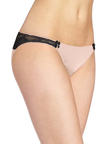 b.tempt'd Wacoal Women's Most Desired Bikini Panty, Rose Smoke (Medium) ()