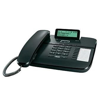 Teléfono fijo Gigaset con pantalla y agenda para centralini ...