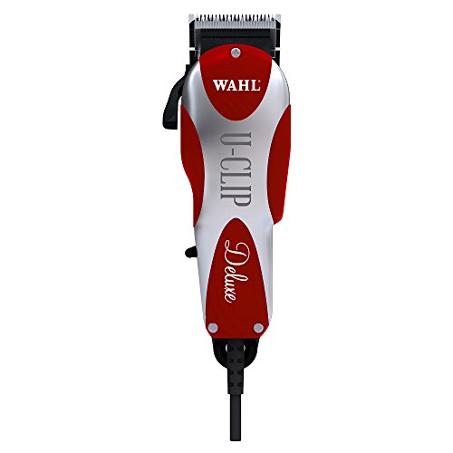 Wahl Professional Animal Deluxe U-Clip Pet Clipper Trimmer Grooming Kit for Dogs Cats and Pets Hair Fur #9484-300