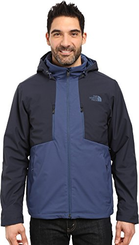 Court Mens Jacket - The North Face Men's Apex Elevation Jacket Shady Blue/Urban Navy (Prior Season) Large