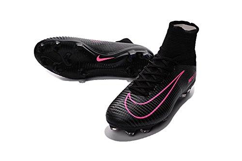 yurmery Zapatos para hombre Mercurial Superfly V FG–Botas de fútbol