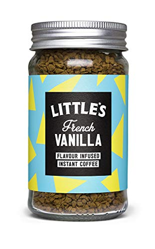 Littles Speciality Coffee French Vanilla Flavour Instant Coffee (1 x 50g jar)