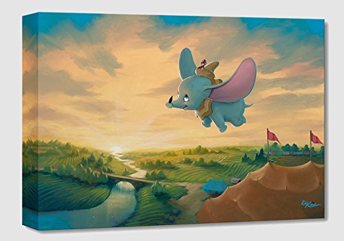 Flight Over The Big Top by Rob Kaz - Limited Edition Gallery Wrapped Canvas (Edition Limited Pooh)