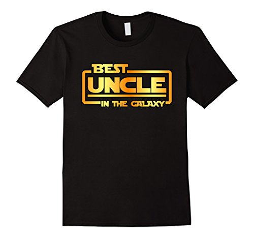 Mens The Best Uncle In The Galaxy T Shirt 2Xl Black