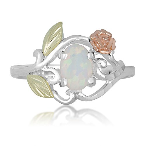 Black Hills Gold Opal Ring - 3