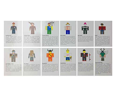 Roblox Series 1 Classics 12 Figure Pack Includes Builderman