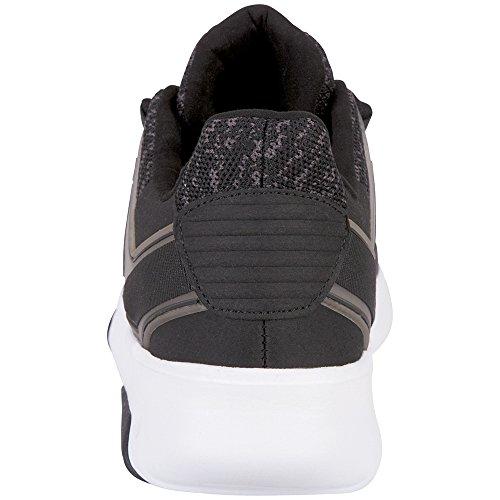 Tackle Trainers Grey 1116 Black 1116 Unisex Kappa Black Adults' Grey Black SwEnC