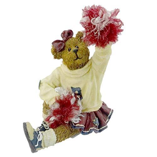 Boyds Bears Resin Sissy Boom Bah Go Team Cheerleader Bearstone  228410 (Figurine Cheerleader)