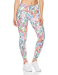 Women's Printed Tropical High-Waisted Legging