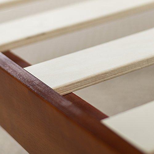 Zinus Wen 12 Inch Deluxe Wood Platform Bed No Box Spring