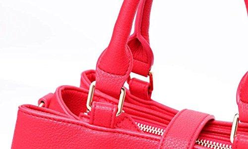 Bolsos De La Moda Bolsa Grande De Capacidad Bolso De La Manera Diagonal Vagabunda White