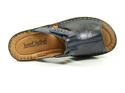 Josef 530 Seibel Femme ocean Mules Catalonia Bleu 32 fTqrf