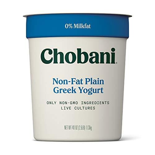 - Chobani Non Fat Greek Yogurt, 40 Ounce