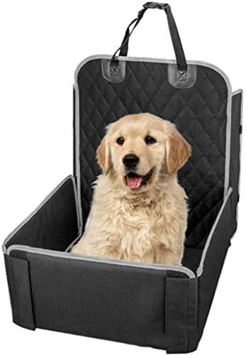 XISABCS 犬のカーシート - 防水&滑り止め付きペット用カーシートカバー、取り外し可能なカバー&クッション、パーフェクト車用