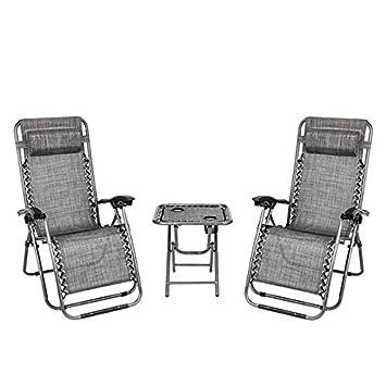 Amazon.com: Thxbyebye - 2 sillas reclinables para camping ...