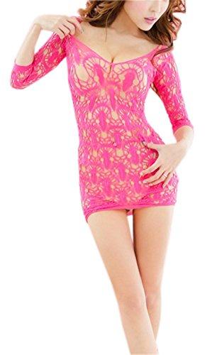AnVei Nao Babydoll Lingerie Stockings Nightwear