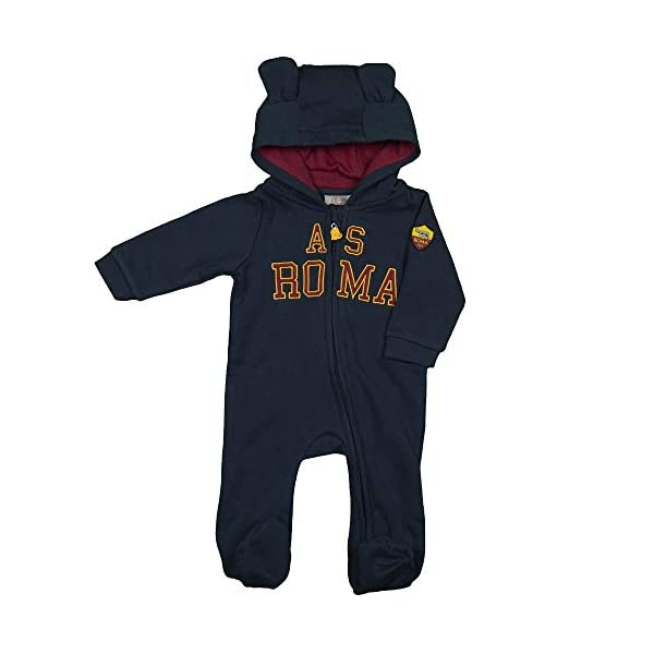 AS Roma Tutina in Felpa con Zip R13866 1
