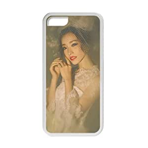 Welcome!Iphone 5C Cases-Brand New Design Beautiful Girl In White Dress Printed High Quality TPU For Iphone 5C 4 Inch -05