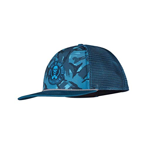 Patagonia Torpedo Crew Come Hell Or High Water Trucker Hat (Underwater Blue Camo)