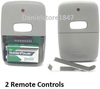 10 Digit Pins Mini Remote Control Garage Door Gate Opener Transmitter